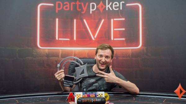 Michal Mrakes Wins Party Poker Live's 2017 Main Event