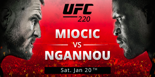 Miocic-Ngannou Fight Odds - UFC 220