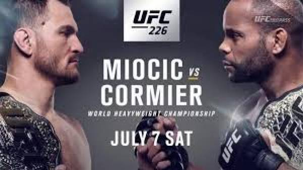 Latest Betting Form For UFC 226 Miocic Vs Cormier