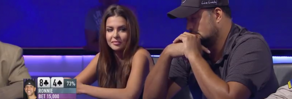 Former Miss Universe Takes Down Poker Pro