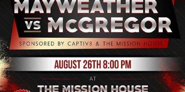 Where Can I Watch, Bet the Mayweather-McGregor Fight Montgomery, Alabama
