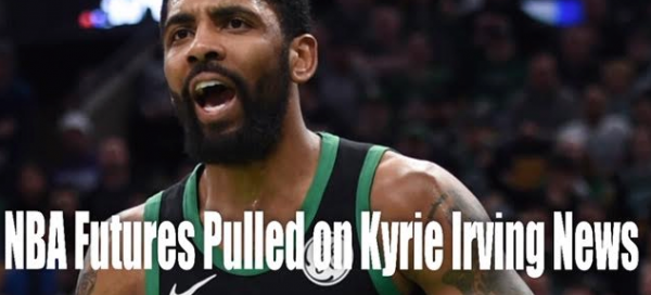 NBA Championship Odds Pulled on News Kyrie Irving Could Reach Deal With Nets