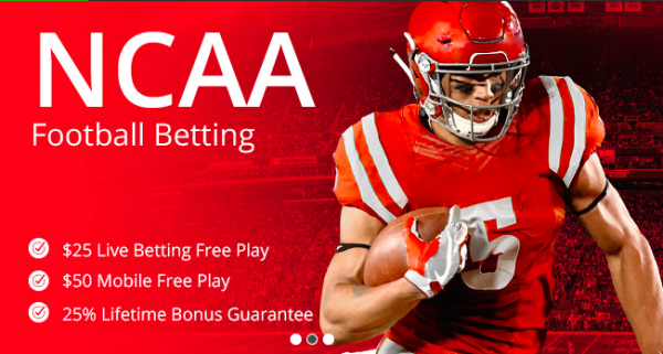 Online Sportsbook NCAA College Football Free Play Bonus