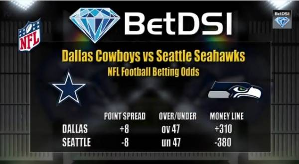 NFL Betting Picks – Cowboys vs. Seahawks, Redskins vs. Cardinals, Lions vs. Viki