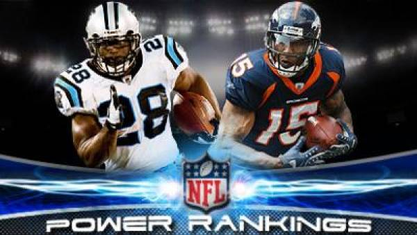 2010 Week 8 NFL Power Rankings