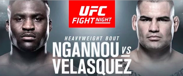 Bet the Ngannou vs. Velasquez Fight Online - February 17