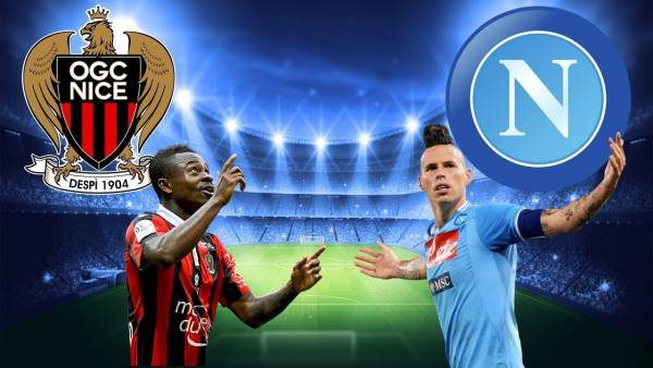 Nice v Napoli Champions League Betting Tips, Latest Odds