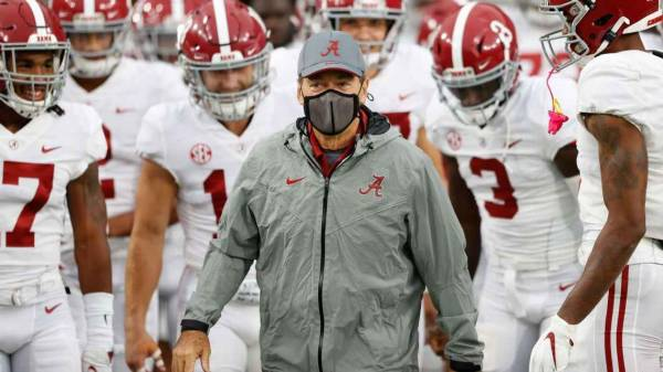 What's the Line on the Georgia-Alabama Game With Saban Having Covid?