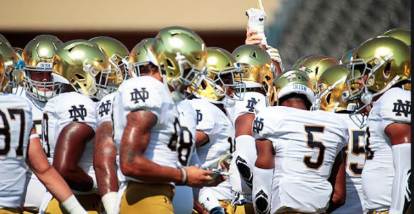 What is the Line on the Notre Dame Duke Game September 12?
