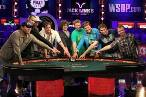 November Nine WSOP 2011