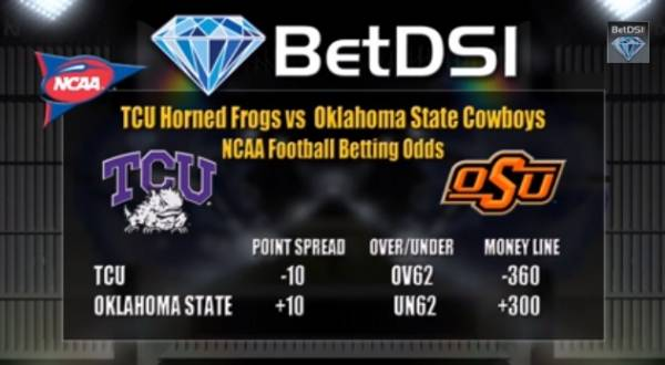 OSU vs. TCU Betting Line – Free Pick
