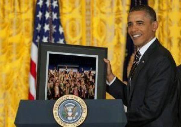 Online Gambling Affiliate Leader Honored by Obama