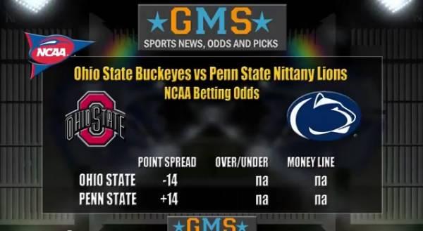 Free College Football Betting Picks - Ohio State vs. Penn State Line