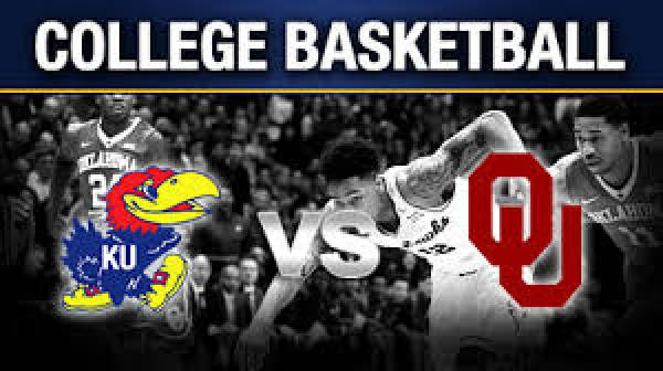 Bet the Oklahoma vs. Kansas College Basketball Game - January 2