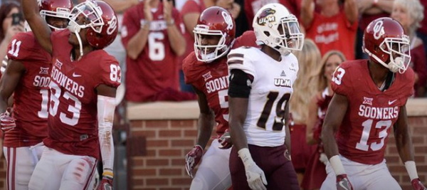 Line on UTEP vs Oklahoma Game - Live In Play Betting Available