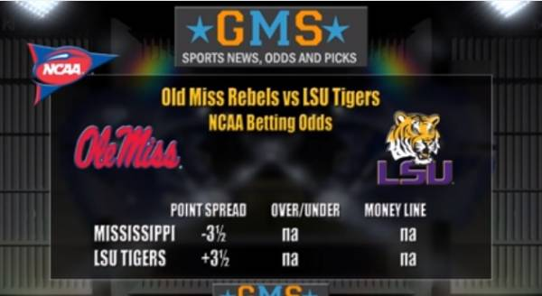 Ole Miss vs. LSU Prediction: 70 Percent of Bets on the Rebels