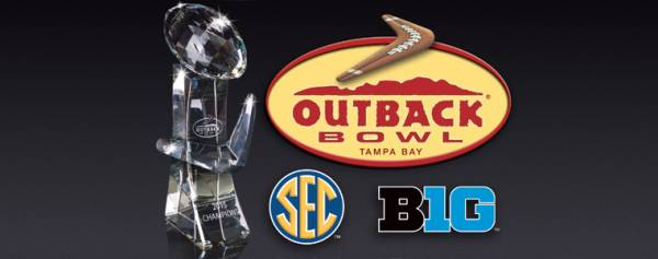 Bet the Outback Bowl 2019 - Mississippi State vs. Iowa