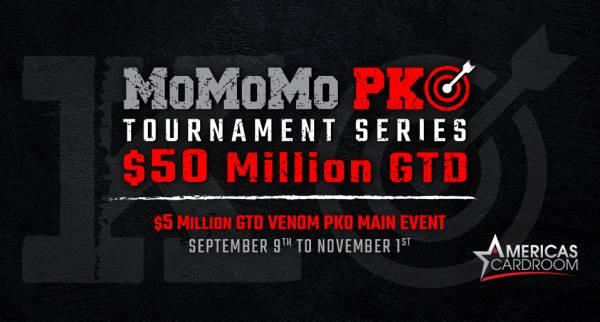 $50 Million Poker Series with $5 Million PKO Main Event