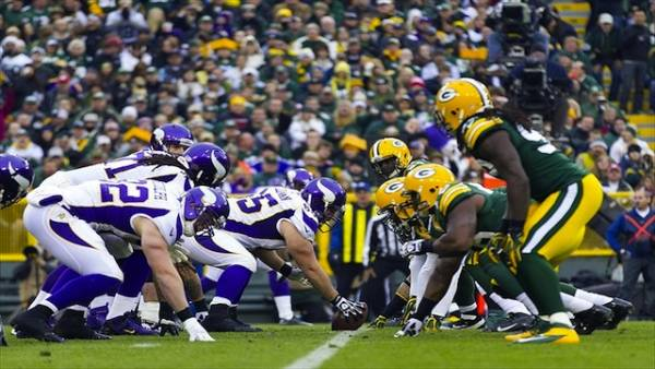 Packers vs. Vikings Point Spread, Free Pick From Gambling911.com