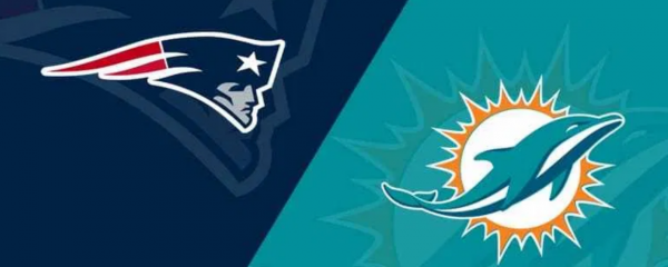 What is the Week 1 Line on the Dolphins vs. Patriots Game (2020)