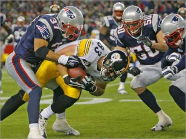 Patriots vs. Steelers