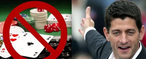 Paul Ryan Names Anti-Online Gambling Campaign Lobbyist as Chief of Staff