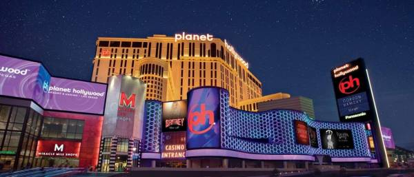 Planet Hollywood Casino in Las Vegas Flooded