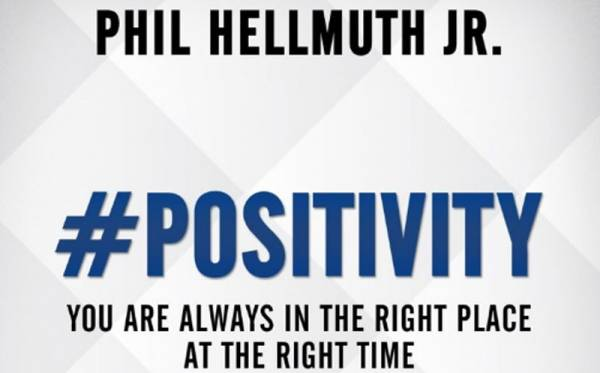 #Positivity: You Are Always in the Right Place at the Right Time - Phil Hellmuth Book Signing Thursday
