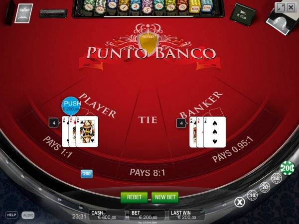 Play Punto Banco Using Bitcoin Online