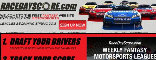 RaceDayScore.com Review – First Fantasy Website Exclusively for Motorsports