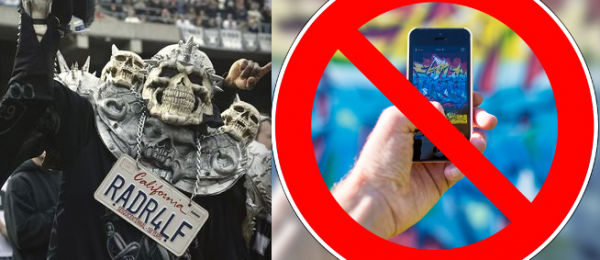 NFL Not Happy Over Prospect of Mobile Betting at Vegas Raiders Stadium