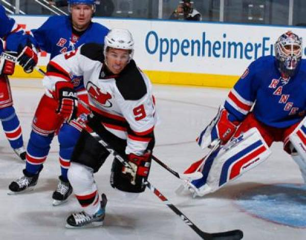 Rangers vs. Devils Line at New Jersey -120:  Game 3 NHL Playoffs