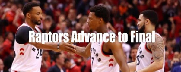 Raptors Eliminate Bucks to Play in First Finals Ever