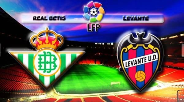 Real Betis vs Levante Betting Tip, Latest Odds 25 September