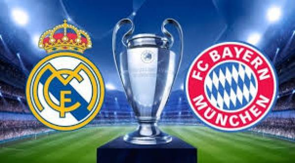 Real Madrid v Bayern Munich Betting Tips, Latest Odds - 1 May