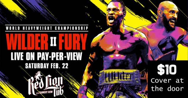 Where Can I Watch, Bet Wilder vs. Fury 2 From Milwaukee Wisconsin