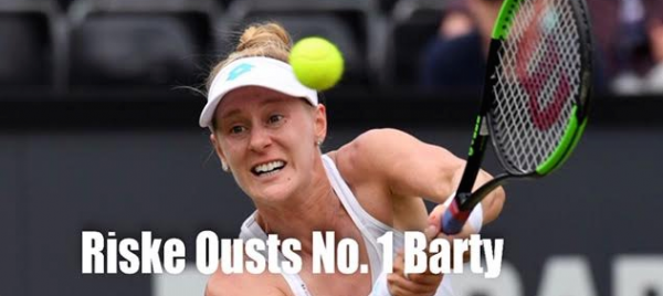 Alison Riske Ousts No. 1 Barty: Would Pay Out $6600 With Win