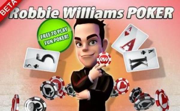 Robbie Williams Online Poker