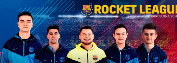 FC Barcelona Strengthens its Commitment to eSports With a Rocket League Team