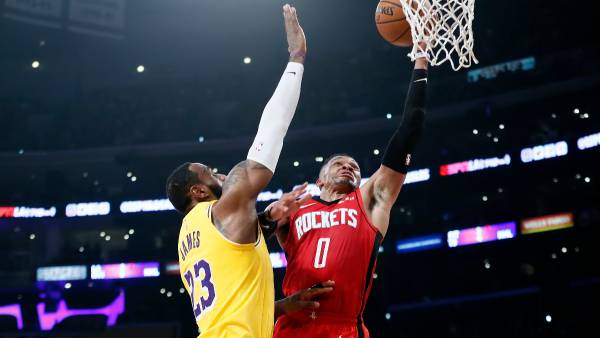NBA Betting - Houston Rockets vs. Los Angeles Lakers Game 1