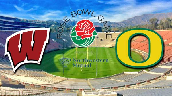 Rose Bowl Betting - Oregon Ducks vs. Wisconsin Badgers