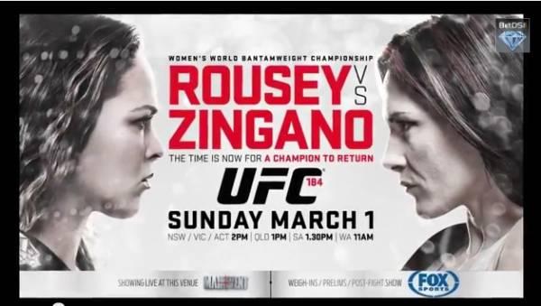 Rousey vs. Zingano Betting Odds – Free Pick