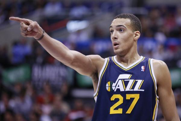 Utah's Rudy Gobert Has Some Fantasy Value vs. Lakers