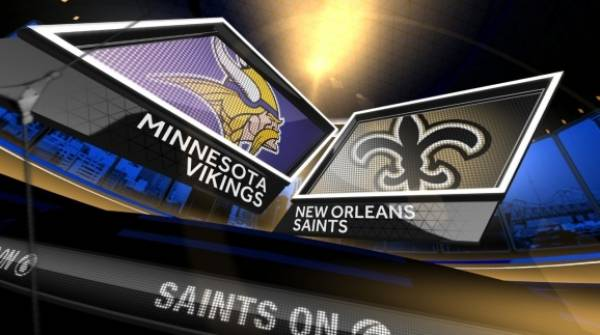 Saints vs. Vikings Betting Line at Minnesota -3.5 - Division Round Playoffs
