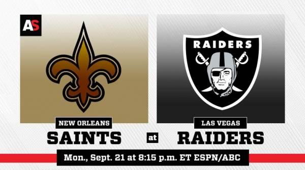 NFL Betting – New Orleans Saints at Las Vegas Raiders