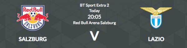 Salzburg v Lazio Betting Tips, Latest Odds - Europa League - 12 April