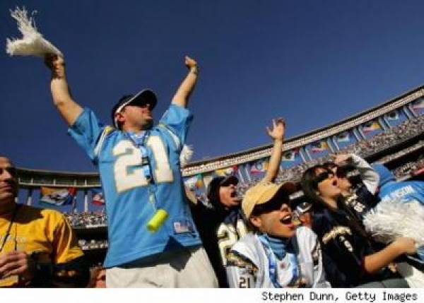Tennessee Titans vs. San Diego Chargers