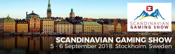 Scandinavian Gaming Show 2018 to Feature the Following Speakers