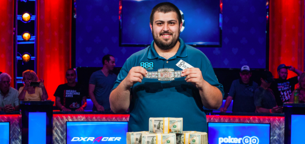 2017 WSOP Main Event Champ Got His Start Playing Poker Online in NJ