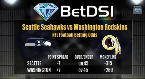 MNF Seahawks vs. Redskins Pick – Latest Betting Line